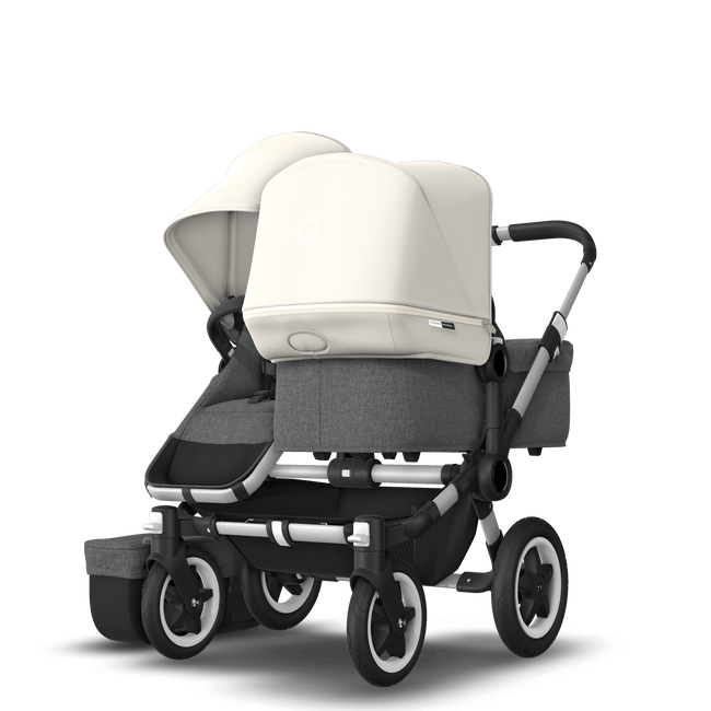 Bugaboo Donkey 2 Duo Kinderwagen met stoel en wieg